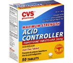 CVS Acid Controller Tablets Maximum Strength