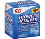 CVS Shower Reliever Effervescent Vapor Tablets