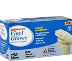 CVS Medical Exam Quality Vinyl Gloves