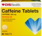 CVS Caffeine Tablets