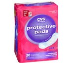 CVS Protective Pads Moderate Absorbency Case