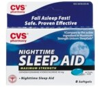 CVS Maximum Strength Nightime Sleep Aid 50 Mg Softgels