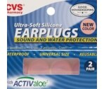CVS Ultra-Soft Silicone Earplugs
