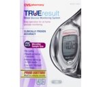 CVS TrueResult Blood Glucose Monitoring System