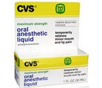 CVS Maximum Strength Oral Anesthetic Liquid