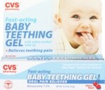 CVS/pharmacy Cherry Flavor Fast-Acting Baby Teething Gel