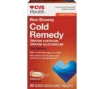 CVS Cold Remedy Rapid Melts