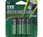 CVS Rechargeable AA Batteries
