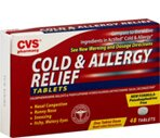 CVS Cold & Allergy Relief Tablets