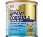 CVS Soy-Based Powder Infant Formula 0-12 Months