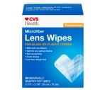 CVS Premoistened Lens Wipes