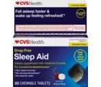 CVS Natural Sleep Aid Chewable Tablets
