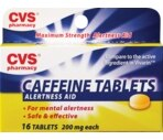 CVS Caffeine Tablets 200 Mg
