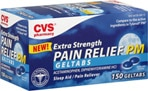 CVS Extra Strength Pain Relief PM Geltabs