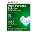 CVS No Rub Multi-Purpose Solution Special Value Twin Pack