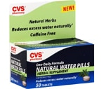 CVS Natural Water Pills