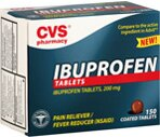 CVS Ibuprofen 200 mg Coated Tablets