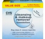 CVS Cleansing & Makeup Remover Towelettes