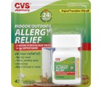 CVS Allergy Relief 24 Hour Indoor/Outdoor