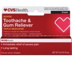 CVS Intense Strength Toothache Relief