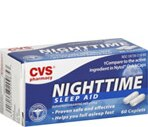 CVS Nighttime Sleep Aid Caplets