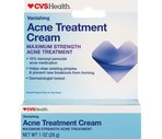 CVS Acne Treatment Cream Maximum Strength Vanishing Formula