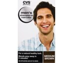 CVS Men's Shampoo-In Haircolor Medium Brown