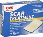 CVS Scar Treatment Silicone Sheets