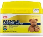 CVS Premium Infant Formula Powder 0-12 Months