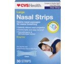 CVS Nasal Strips 4-Touch Technology, Clear