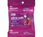 CVS Ultra-Soft Cleansing Wipes w/ Aloe & Vitamine E, Scented Travel Pack