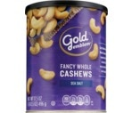 CVS Gold Emblem Fancy Whole Cashews with Sea Salt