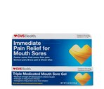 CVS Immediate Mouth Sore Relief Maximum Strength