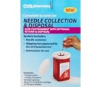 CVS Complete System for Needle Collection & Disposal