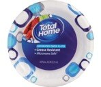 Total Home by CVS  Decorated Paper Plates 8-3/4 Inches