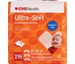 CVS Ulta-Soft Cleansing Wipes, Unscented