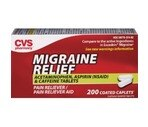 CVS Migraine Relief Coated Capsules