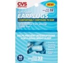 CVS Soft Foam Earplugs Latex Free