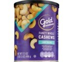 CVS Gold Emblem Lightly Fancy Whole Cashews, Sea Salt