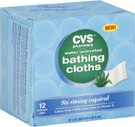 CVS Water Activated Bathing Cloths