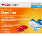 CVS Non-Drowsy Daytime Multi-Symptom Cold/Flu Relief Softgels