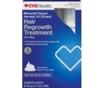 CVS Hair Regrowth Treatment For Men, Easy to Use Foam