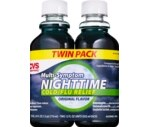 CVS Multi-Symptom Nighttime Cold/Flu Relief Liquid Original Twin Pack
