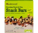 CVS Gold Emblem Abound Chocolate Chunk & Chia Snack Bars