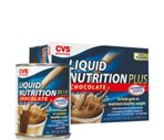 CVS Liquid Nutrition Plus 6-Pack 8-Ounce Cans Chocolate
