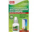 CVS Antihistamine Eye Drops Original Prescription Strength