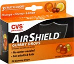 CVS AirShield Echinacea & Zinc Gummy Drops Assorted Flavors