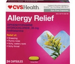 CVS Allergy Liquid Gelcaps Dye-Free