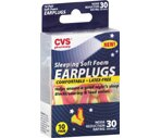 CVS Sleeping Soft Foam Earplugs Latex-Free