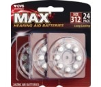 CVS Hearing Aid Batteries Size 312 24-Pack
